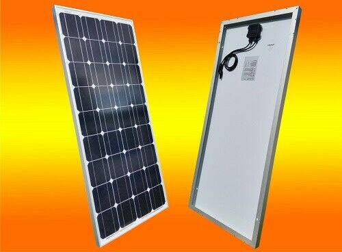130 watt solarmodul solarpanel solarzelle monokristallin. Black Bedroom Furniture Sets. Home Design Ideas