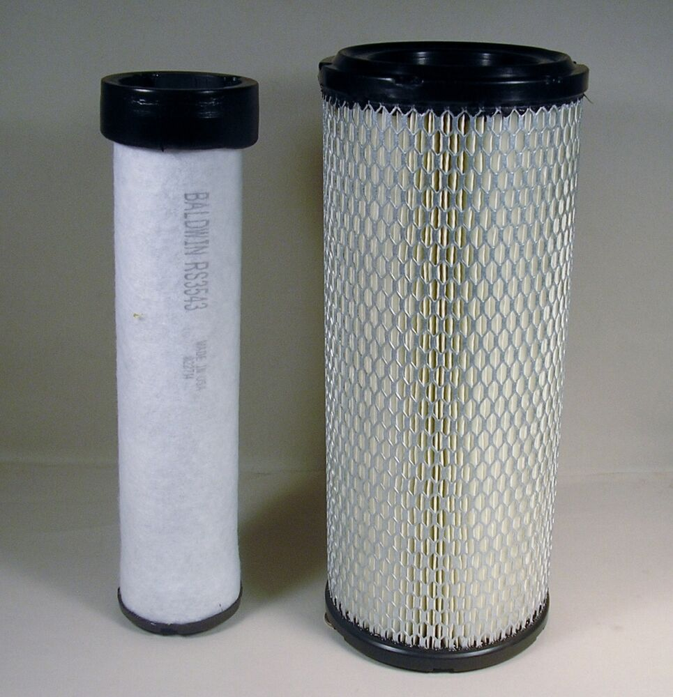 Replacement Air Filter For Tractors : Kubota svl m air filter kit ebay
