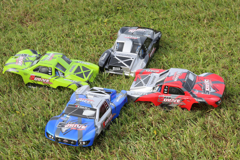 4pcs 4x Color Traxxas Truck Car Body 1/10 Slash 4x4 VXL