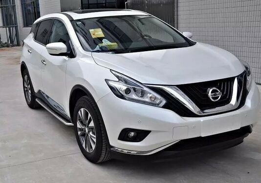 New Fit 2015 2017 Nissan Murano Stainless Steel Side Step