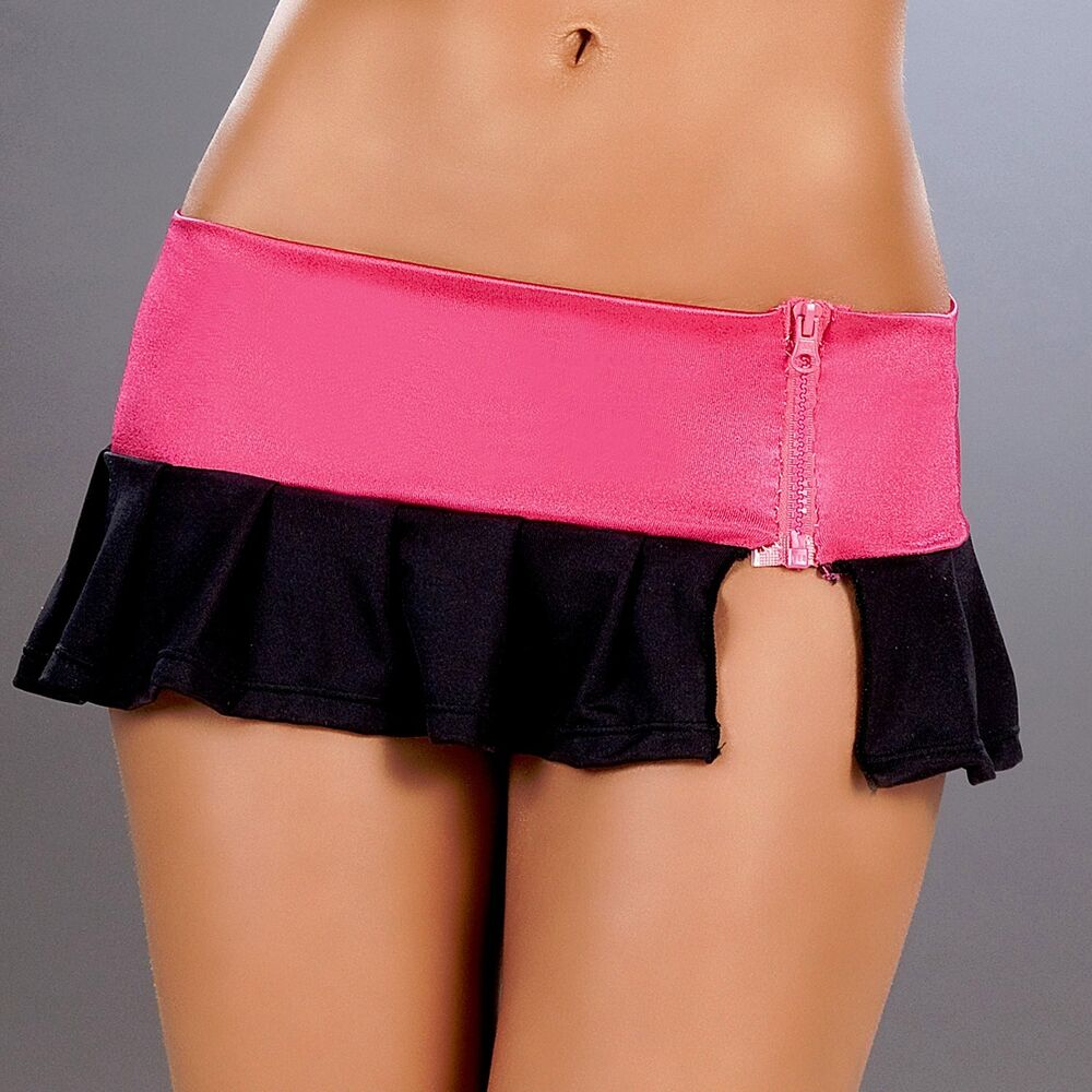 Think, Pink mini skirt was and