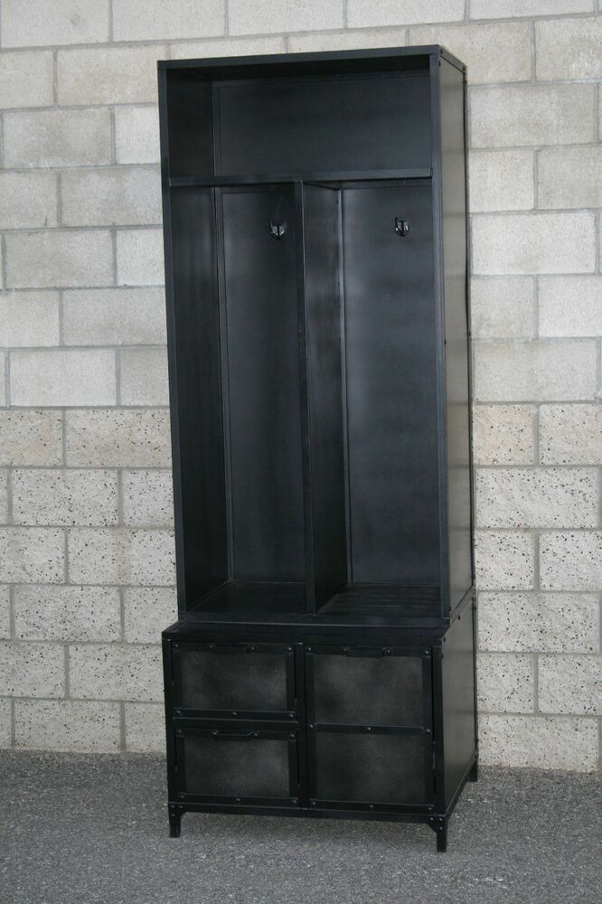 Mudroom Locker Vintage Modern Industrial Style Reclaimed