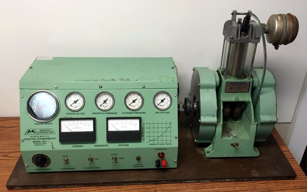 Megatech Electric Dynamometer Dg 1 And Mark Iii