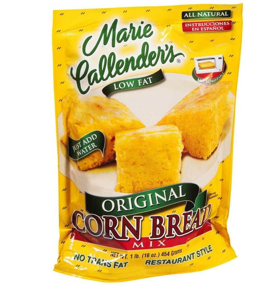 Marie Callenders Corn Bread Mix Restaurant Style Low Fat ...