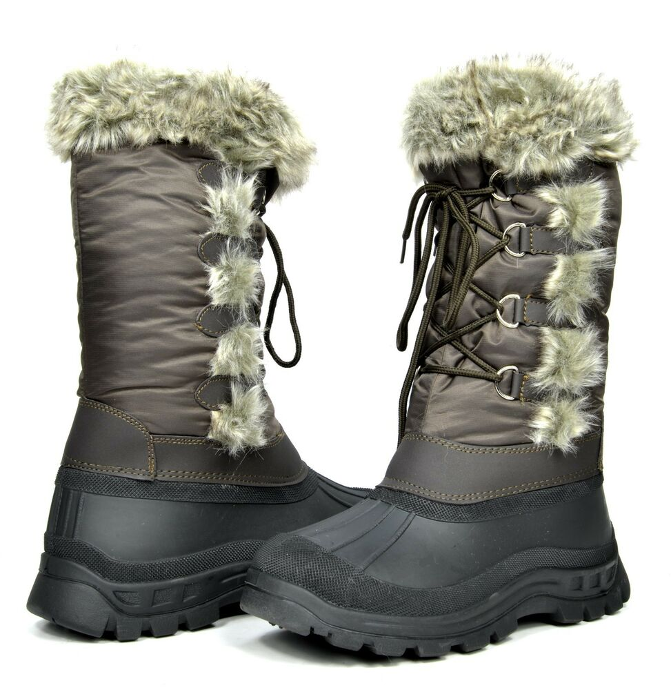 Padded &amp Water Resistant Snow Boots | Homewood Mountain Ski Resort