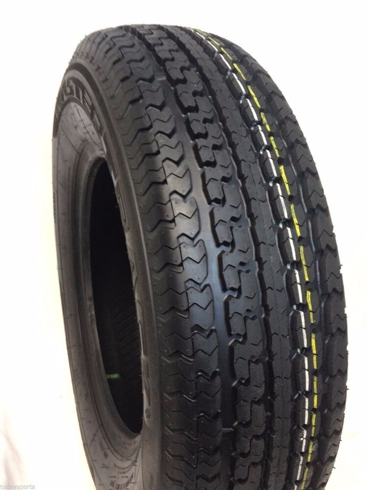 4 new st 225 75r15 radial trailer tires 10 ply rated st225. Black Bedroom Furniture Sets. Home Design Ideas