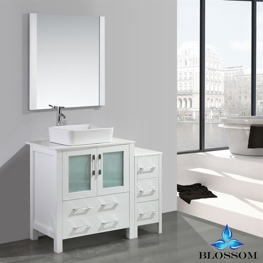 ... Ebay Bathroom Vanities Sydney By Blossom 30 Quot Sydney Single Sink Bathroom  Vanity With Vessel ...