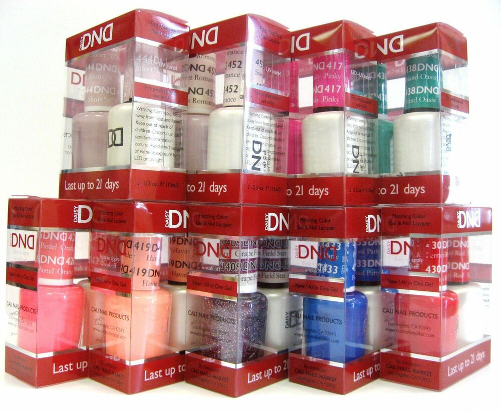Daisy Dnd Duo Gel Matching Nail Polish Set 522 To 545 Choose Your Colors Ebay