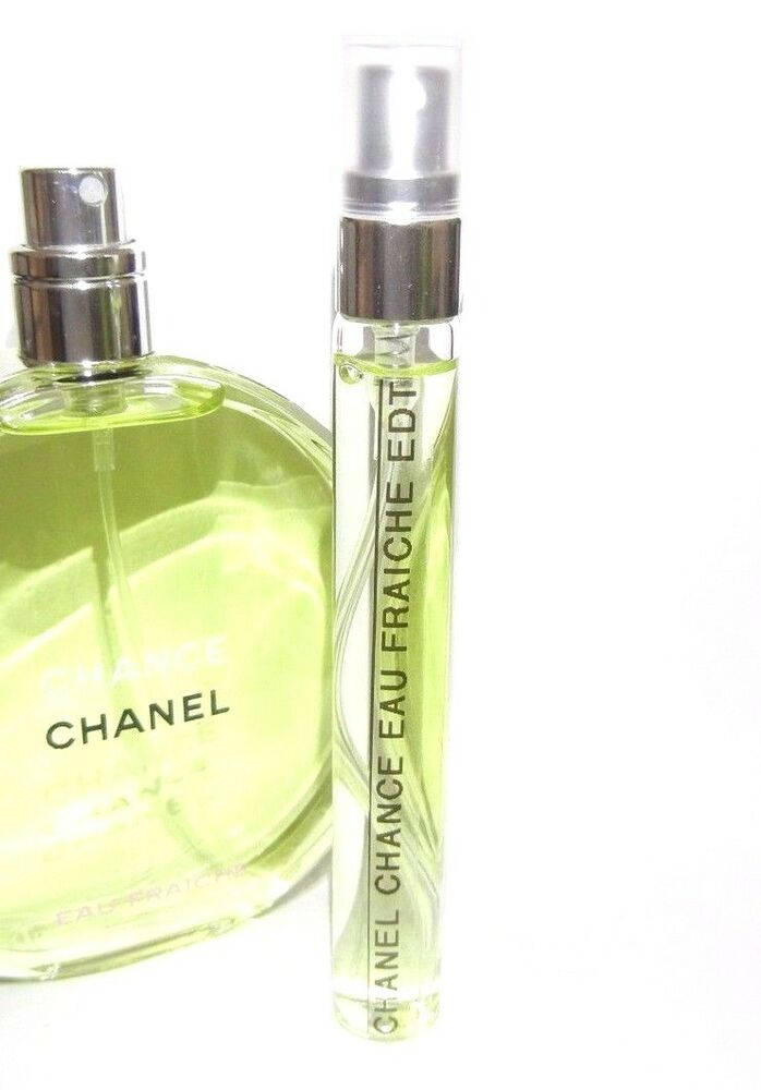 Chanel Chance 10ml Eau Fraiche de Toilette 0.33oz EDT Spray Travel SAMPLE Purse | eBay