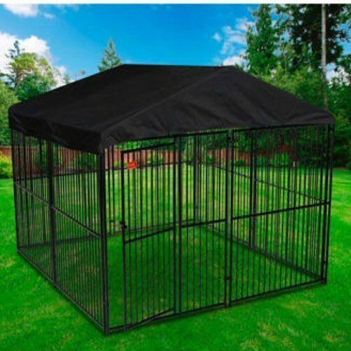 Dog Kennel X Roof
