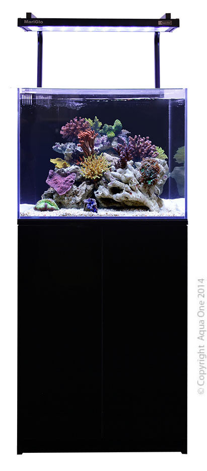 aqua one mini reef marine aquarium 120 litres ebay