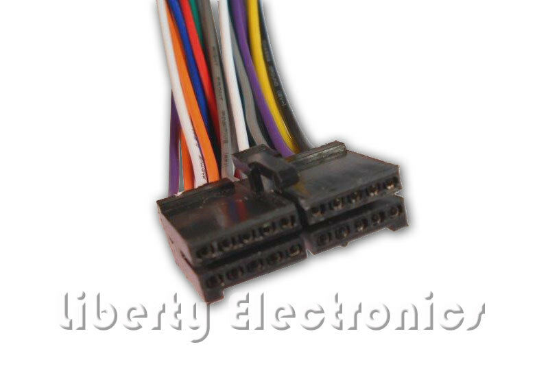 s l1000 new wire harness for jensen vx4020 dmx5020 ebay dual xdvd8265 wiring harness at edmiracle.co