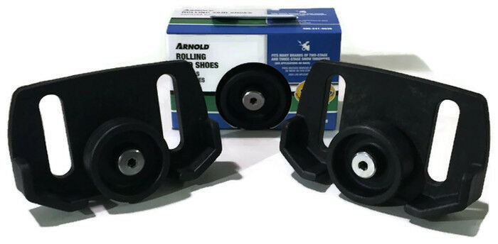Snow Blower Brands : Snow thrower rolling skid shoe arnold universal many