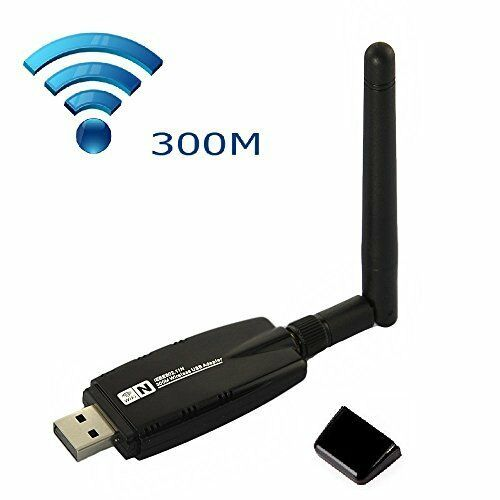 mini 300mbps wireless usb wifi network lan adapter card with antenna ebay. Black Bedroom Furniture Sets. Home Design Ideas