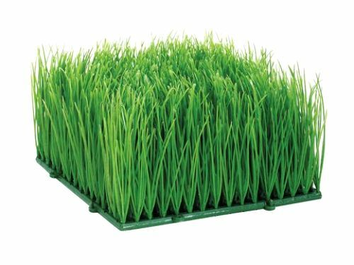 Artificial wheat grass fake soft pvc plastic decorative for Artificial grass decoration