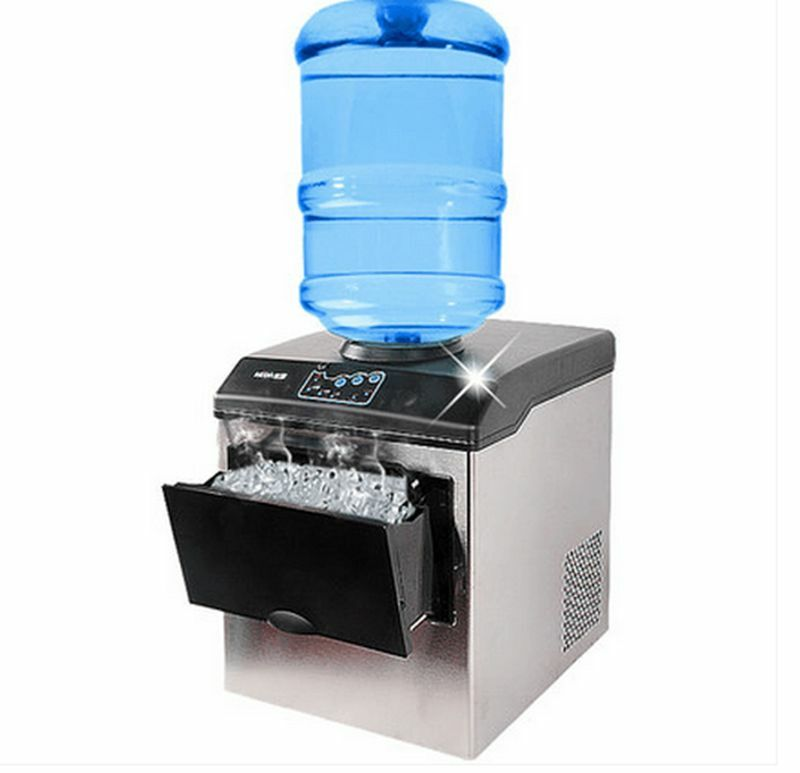 Commercial Ice Cube Maker Machine Bullet Round Ice Ice