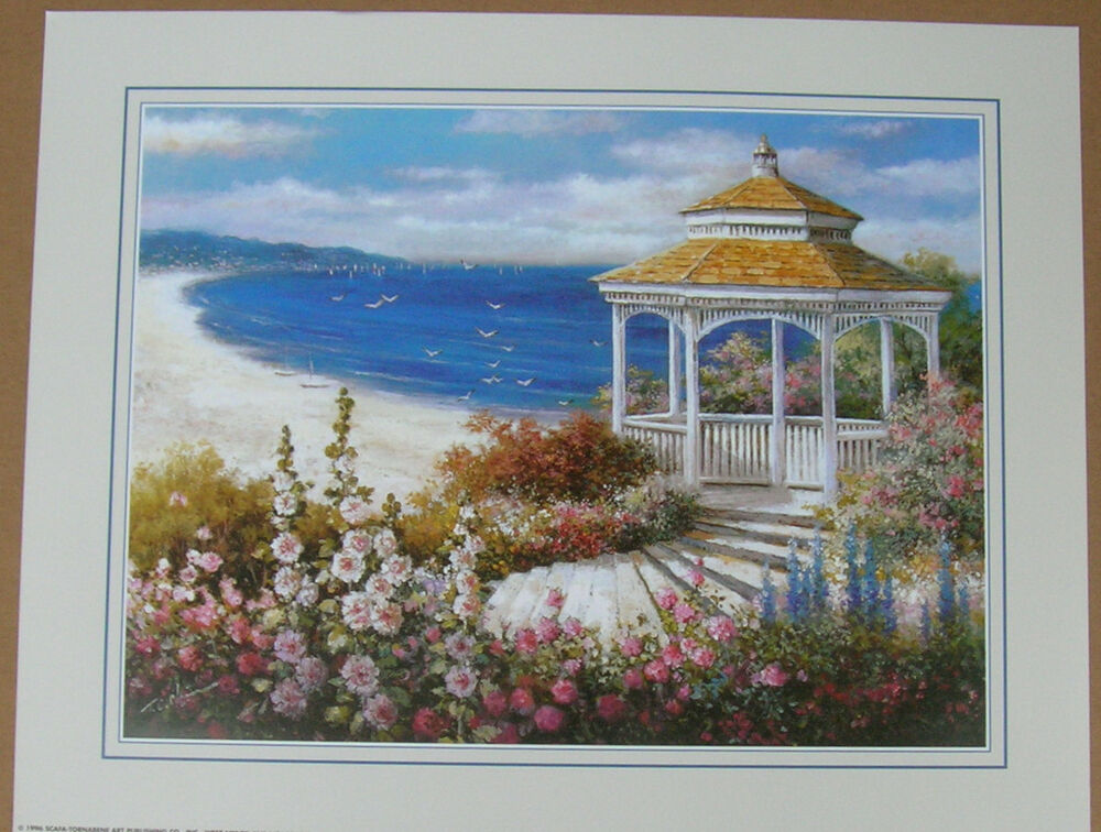 gazebo lighthouse prints country picture print interior