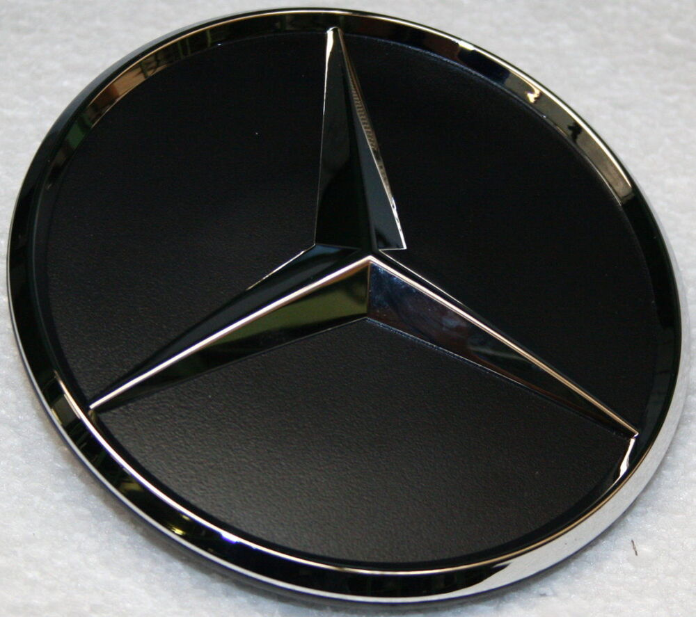 genuine mercedes benz rear door tailgate star badge emblem logo sprinter w906 ebay. Black Bedroom Furniture Sets. Home Design Ideas