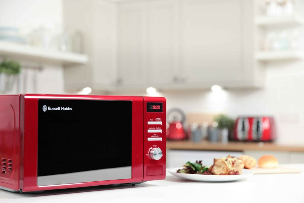 Russell Hobbs Legacy 20 Litre Rhm2064r Red Microwave 800w