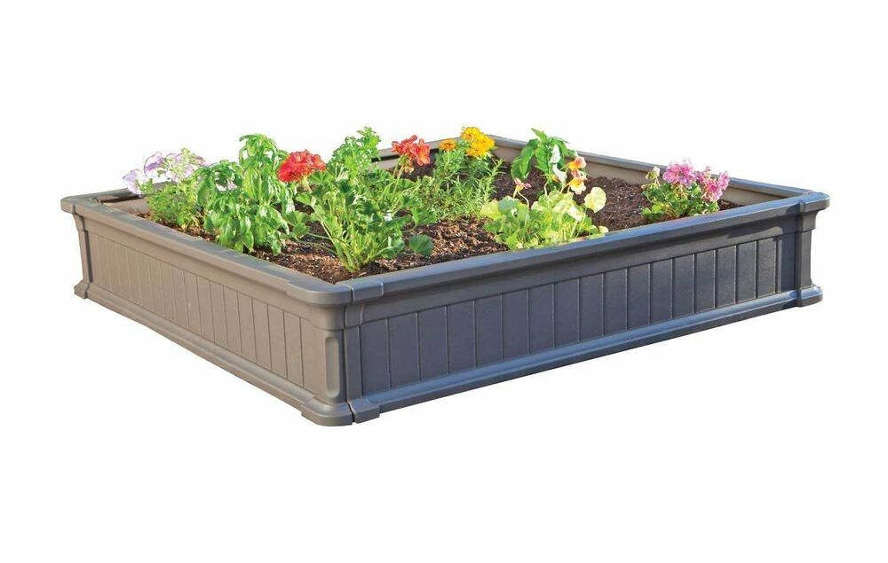 raised garden beds kit outdoor elevated planter patio