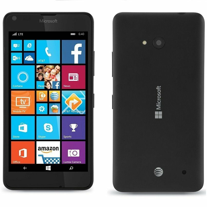 unlocked nokia lumia 640 rm 1073 windows phone works with at t t mobile new ebay. Black Bedroom Furniture Sets. Home Design Ideas