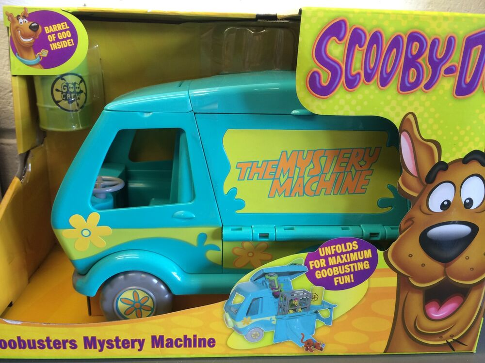 Scooby Doo Toys : New scooby doo goobusters mystery machine playset toy age