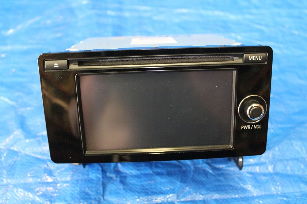 s l1000 2014 mitsubishi lancer ralliart oem navigation radio display unit  at webbmarketing.co