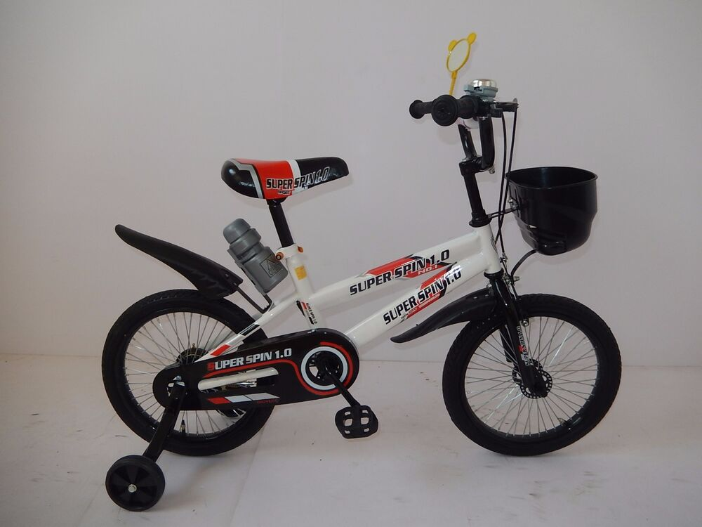 New 16 Quot Children Boys Kids Bike Bicycle With Training