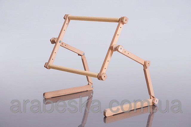 Cross stitch scroll frame table stand ebay for Table th no scroll