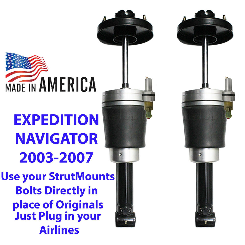 2012 Lincoln Navigator L Suspension: AirBag Air Struts Suspension Bolts Direct 2003-06