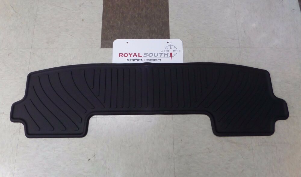 Toyota Highlander 08 13 Factory 3rd Row All Weather Rubber