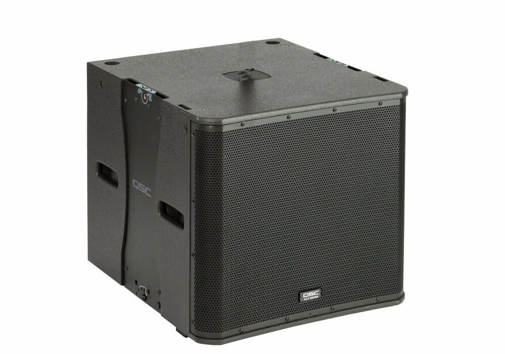 qsc kla181 active line array dj club 1000w amplified powered subwoofer sub used ebay. Black Bedroom Furniture Sets. Home Design Ideas
