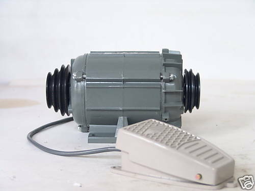 220v Watchmaker Motor With Belt Pulley And Footswitch Ebay