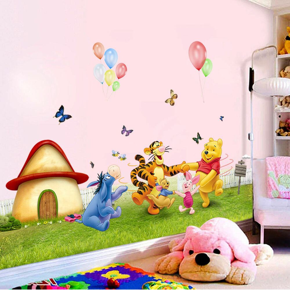 Winnie The Pooh Wall Sticker Vinyl Decal Decor Removable