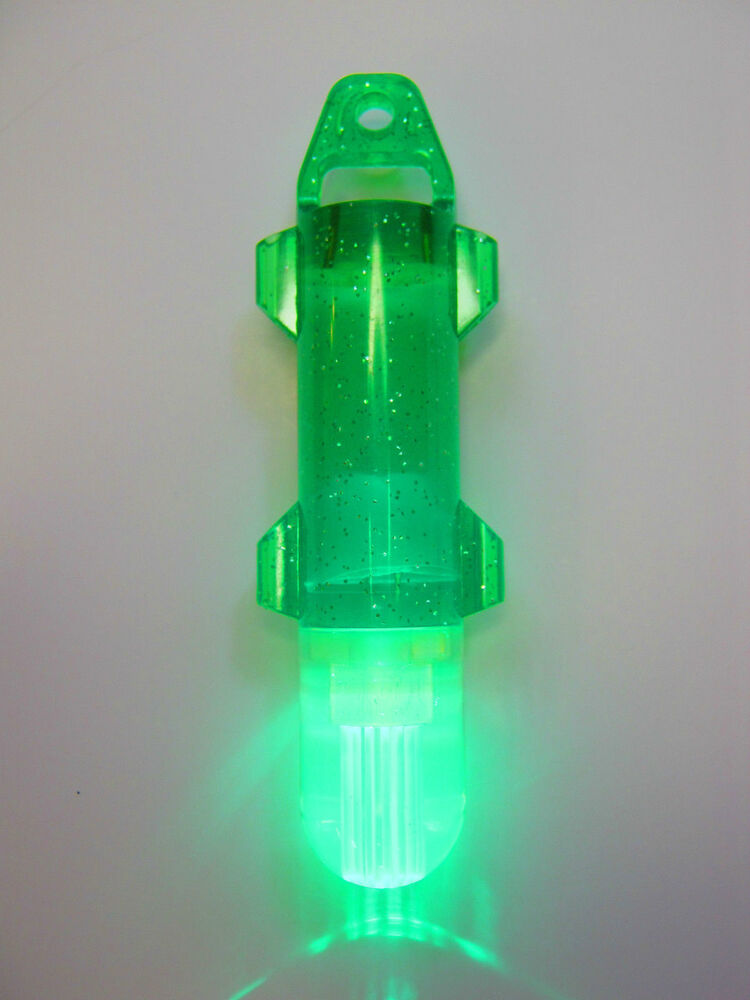 Automatic underwater green led fibre deep drop fishing for Underwater fishing light