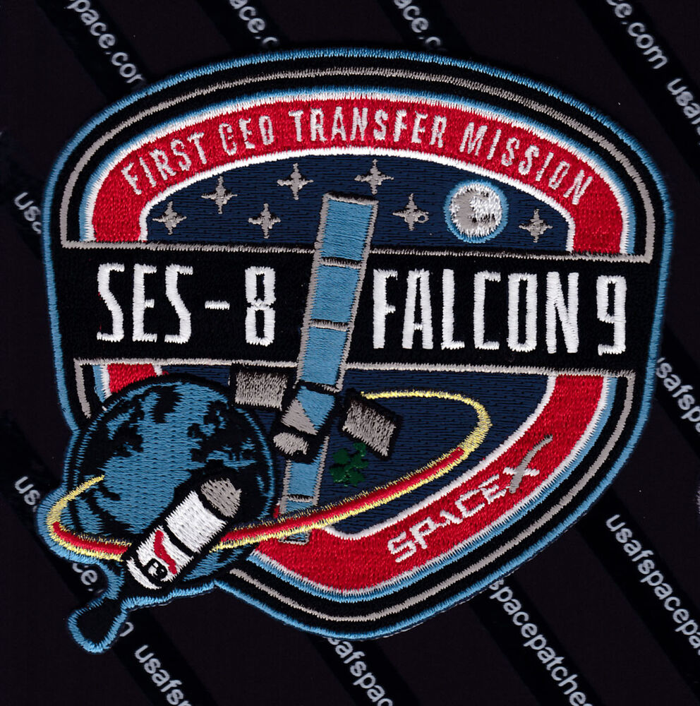 SPACEX FALCON 9.1.1 SES-8 First GEO TRANSFER MISSION CCAFS ...