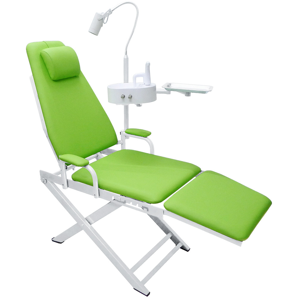 Dental Portable Chair Led Surgical Light Lamp Waste