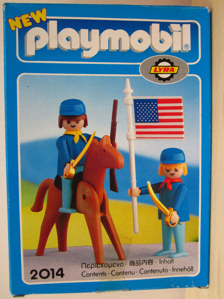Playmobil no 2014 american civil war lyra greece 1976 rare for Playmobil post