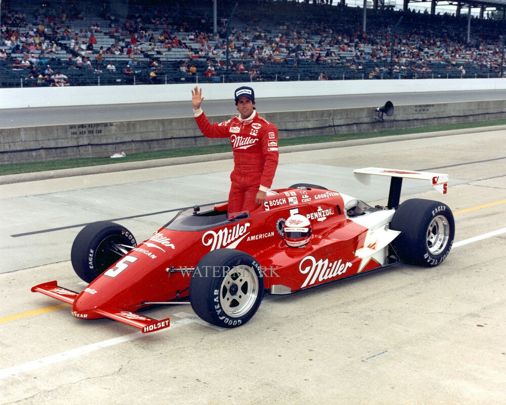 Best 500 Car Photos Spectacular: DANNY SULLIVAN 1988 INDIANAPOLIS INDY 500 MILLER HIGH LIFE
