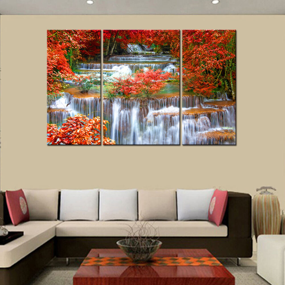 Hd canvas prints home decor wall art painting mangrove for Home furnishings and decor