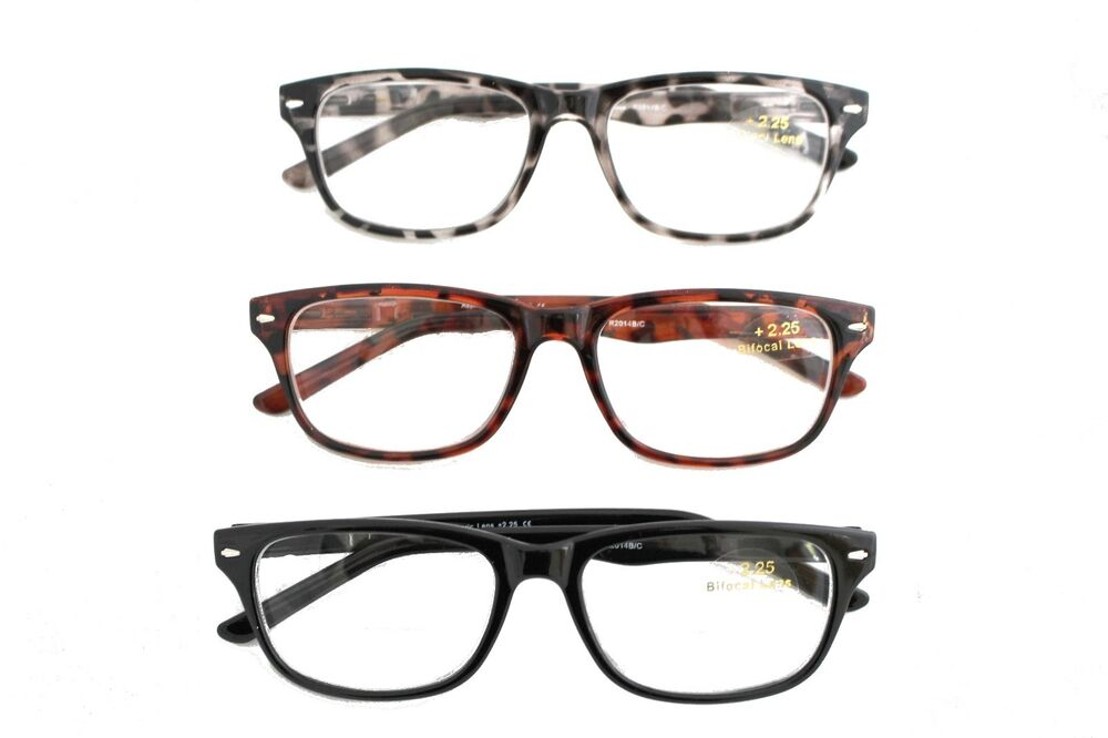 lightweight bifocal cheaters specs reading glasses 1 00