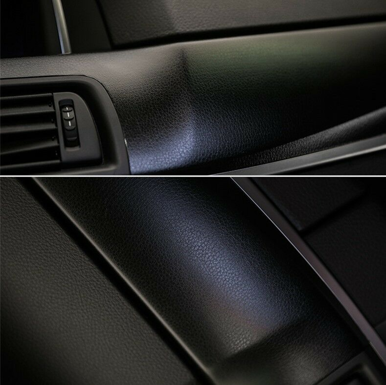 auto interior film simulation leather grain car sticker change color vinyl ebay. Black Bedroom Furniture Sets. Home Design Ideas