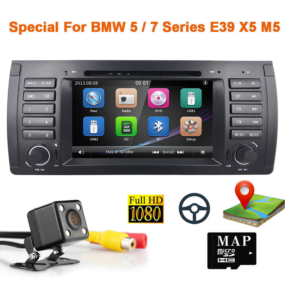 bmw 5 series e39 m5 530i 540i car dvd player gps nav radio. Black Bedroom Furniture Sets. Home Design Ideas