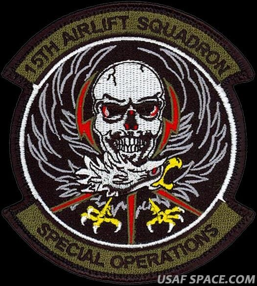 USAF 15th AIRLIFT SQ - SPECIAL OPERATIONS-SOS AIR FORCE ...