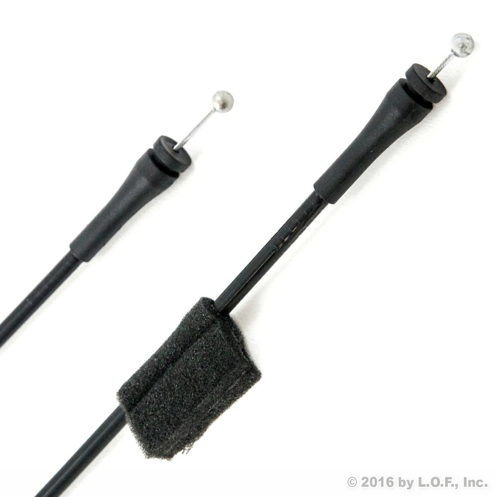 ford van door latch cables 2 pieces pair right rh for. Black Bedroom Furniture Sets. Home Design Ideas