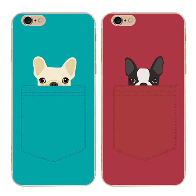 iphone 5s cute cases ultra thin pattern clear dogs cover for iphone 5 14786