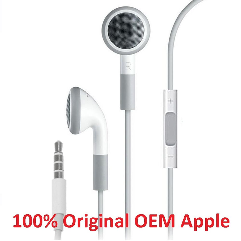 iphone 5 earbuds 100 genuine original apple iphone 4 5 6 6s earpod earphone 10983