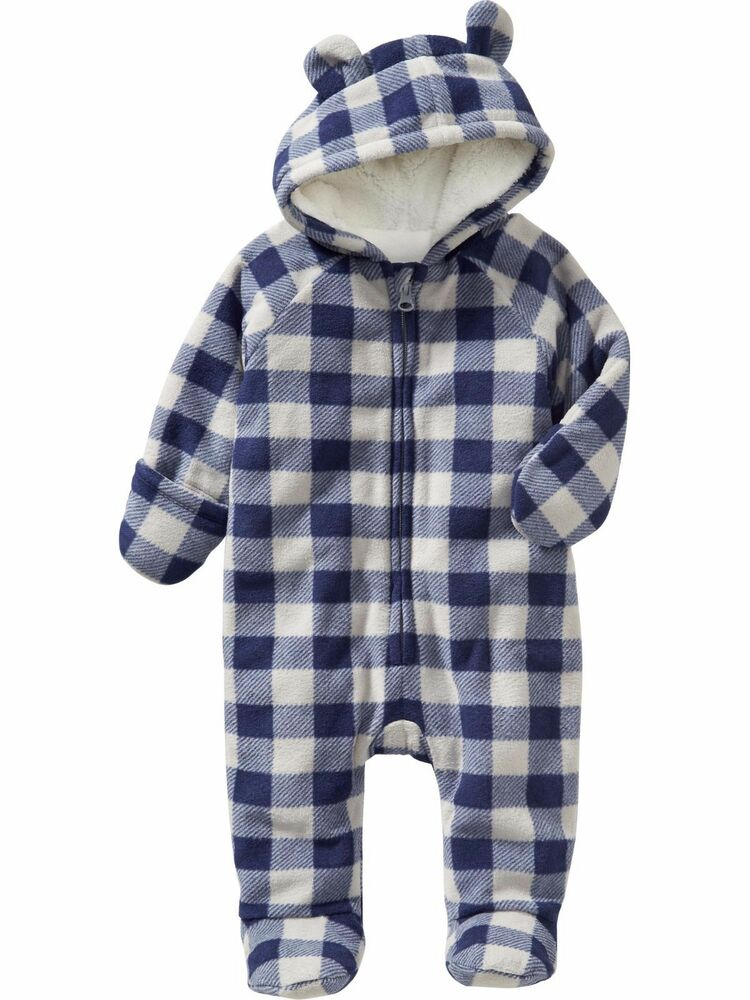 Old Navy Baby Boy Girl Winter Performance Fleece Bear