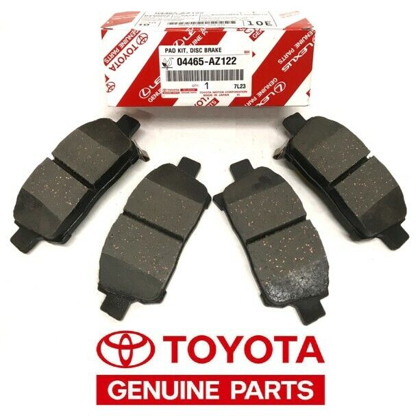 2004 2009 toyota prius front oem brake pads 04465 az014 tm ebay. Black Bedroom Furniture Sets. Home Design Ideas