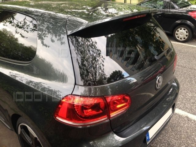 vw golf 6 vi rear spoiler roof spoiler gti r line gtd look. Black Bedroom Furniture Sets. Home Design Ideas